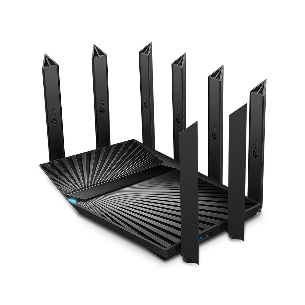 Archer AX90 AX6600 Tri-Band Wi-Fi 6 RouterSPEED: 574 Mbps at 2.4 GHz + 1201 Mbps at 5 GHz_1 + 4804 Mbps at 5 GHz_2SPEC: 8× Ant